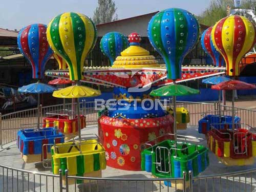 Amusement Park Samba Balloon Rides