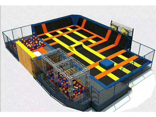 Trampoline Park Equipment