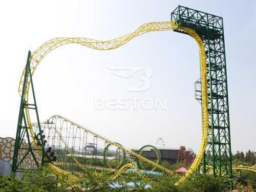 Magic-ring Roller Coaster Ride