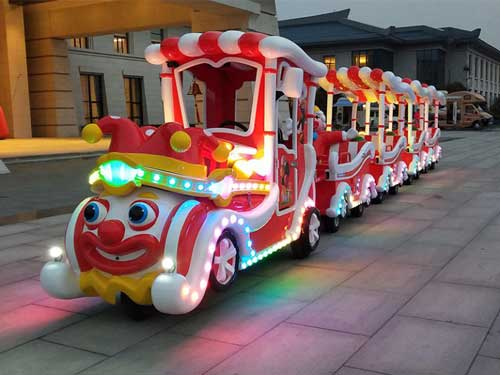 Clown Trackless Train for Sale In Philippines