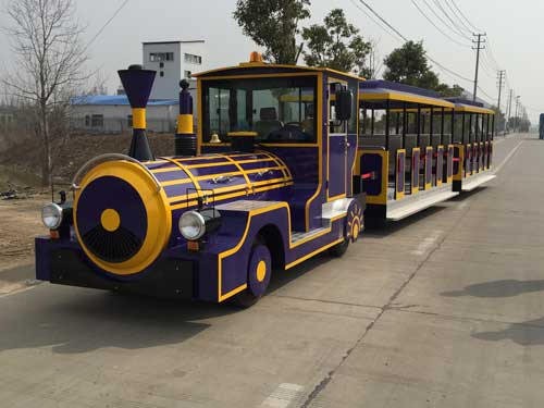 Large Trackless Train for Philippines