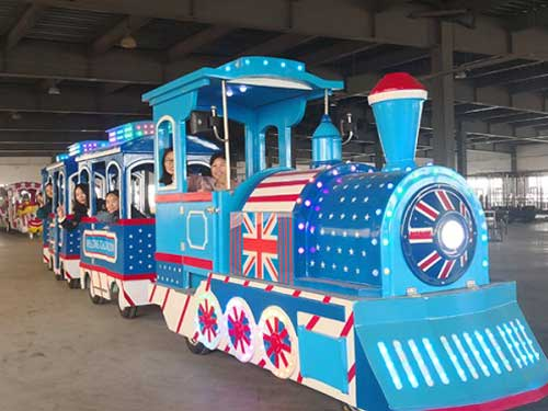 New Trackless Train for Philippines