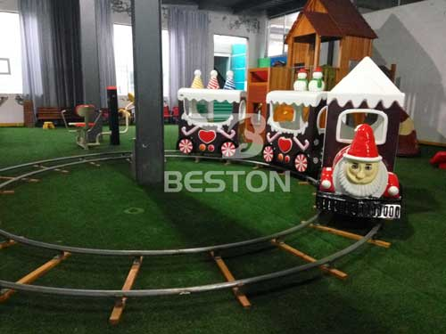 Christmas Track Train for Indoor Use