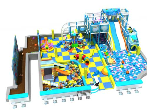 Indoor Playground Equipment for Philippines-1
