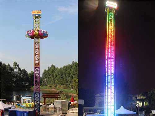 BNDT-53A Thrill Drop Tower Rides