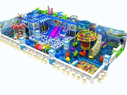 Ocean Theme Indoor Playground Equipment