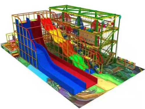 Two Layer Indoor Playground Equipment