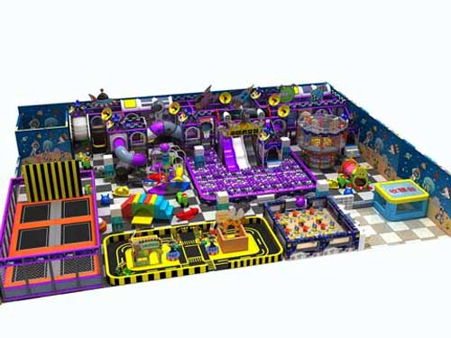 Space Theme Indoor Playground Equipment