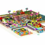 530㎡ Indoor Playground Equipment to Philippines