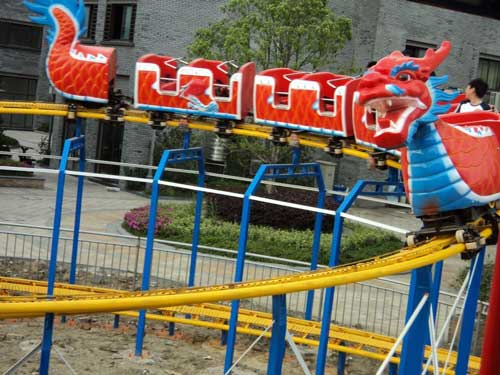Red Dragon Roller Coaster