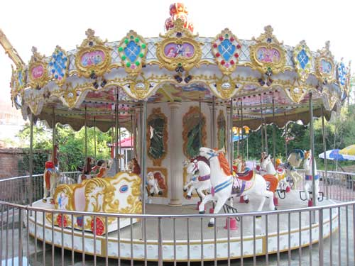 Fairground Rides- Carousel for Philippines