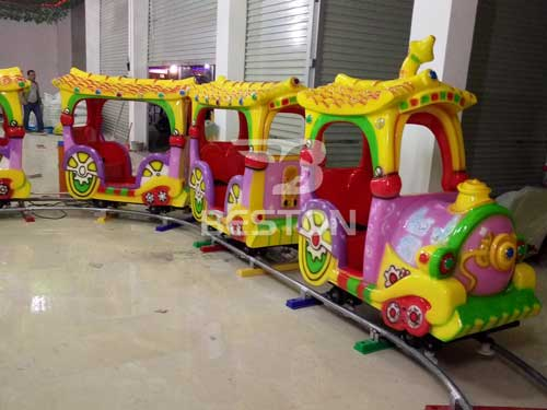 Kids Cartoon Track Train for Philippines