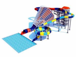 Loudspeakers And Beasts Bowl Water Park Slides for Philippines