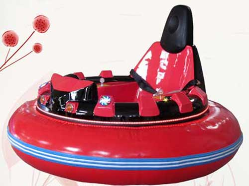 Red Inflatable Bumper Cars for Philippines