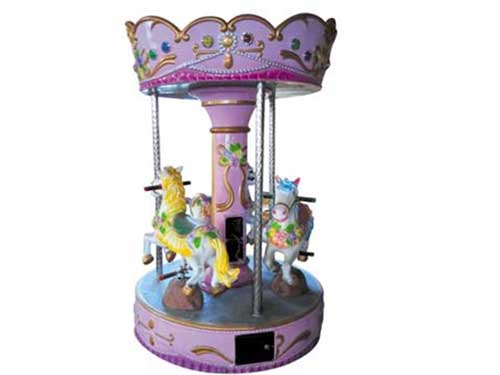 Coin Operated Kiddie Carousel