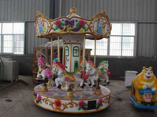 Kids Coin Operated Carousel
