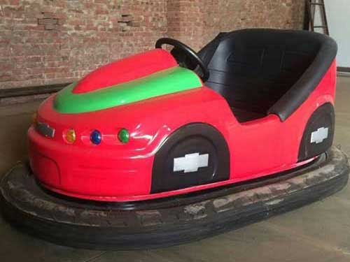 Red Battery Operated Bumper Cars