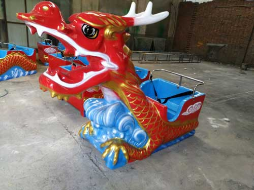 Head of Dragon Roller Coaster for Kids