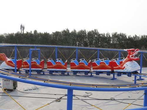 Kiddie Dragon Roller Coaster for Philippines
