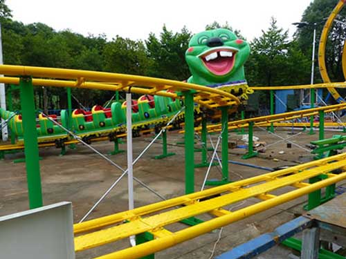 Slide Worm Kiddie Roller Coaster for Philippines