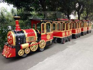 Beston Trackless Train for Philippines