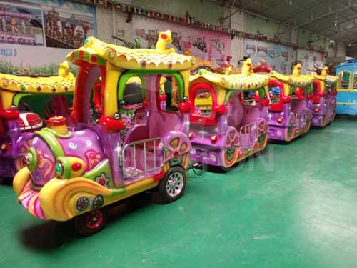 Kids Trackless Train for Sale