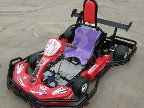 One Seat Gas Powered Go Karts