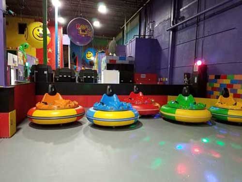 New Inflatable Bumper Cars for Philippines