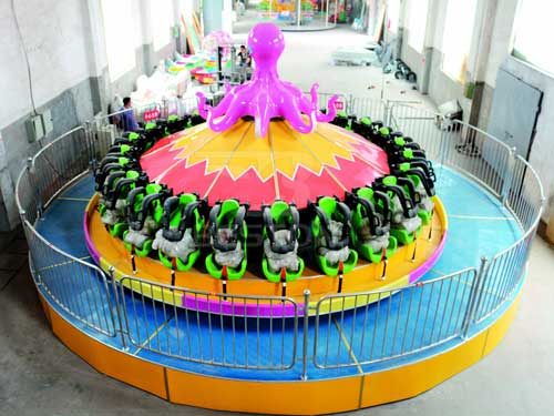 24 Seat Flying Octopus Rides