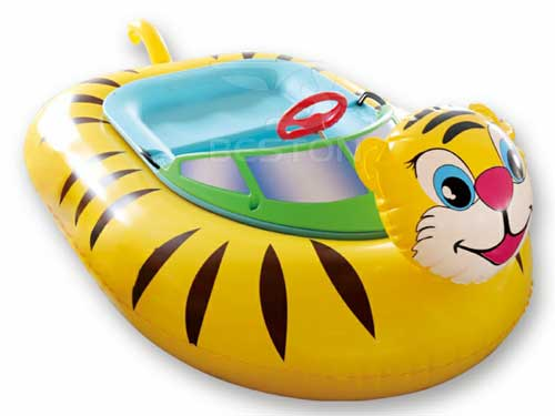 Kids Tiger Bumper Boats for Philippines