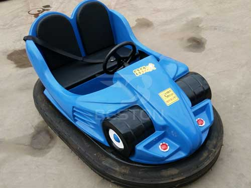 Blue Battery Bumper Cars