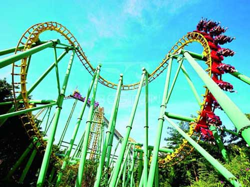 Suspended Roller Coaster for Philippines