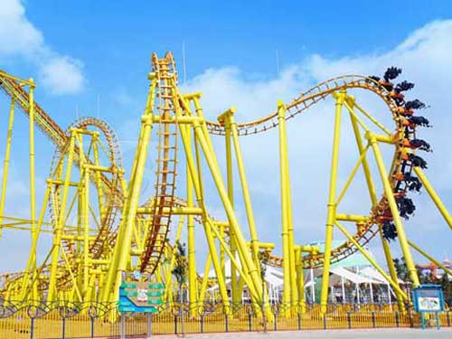 Suspended Roller Coaster from Beston