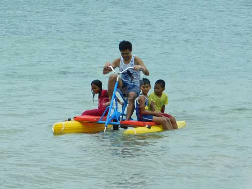 Beston Single Person Water Bikes for Philippines Seaside