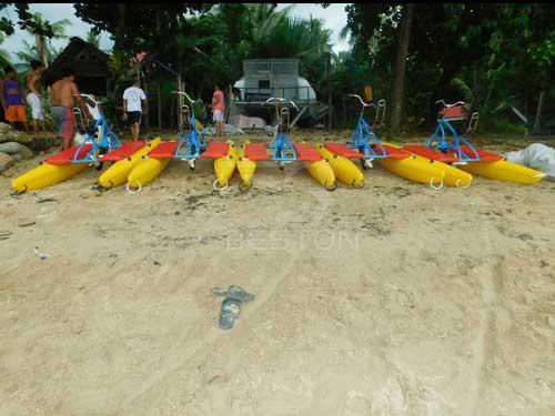 Beston Water Bikes for Philippines Seaside