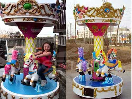 3 Seat Mini Carousel for Sale In Philippines