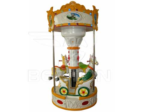 New 3 Seat Carousel for Philippines