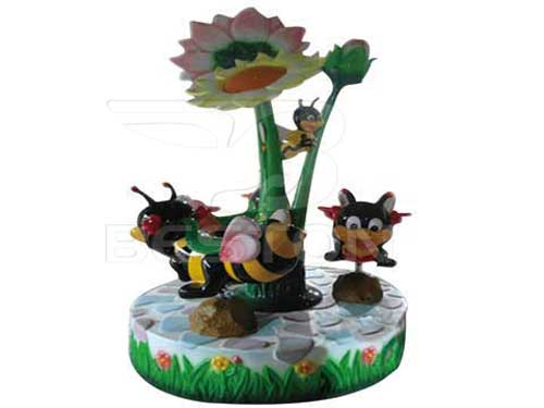 3 Seat Bee Carousel Rides for Philippines