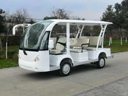 New Electric Shuttle Bus