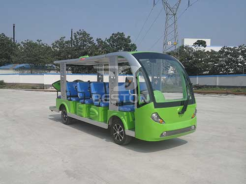 Beston Electric Shuttle Bus for Philippines