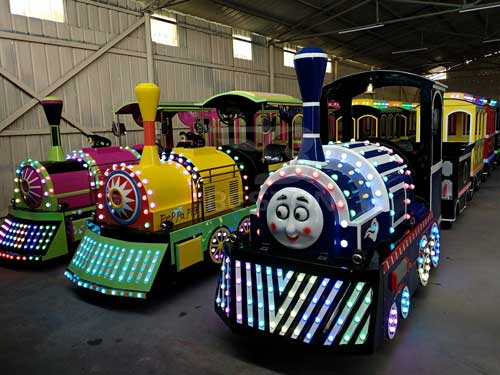 Electric Trackless Train for Philippines