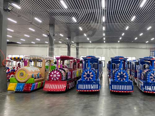 Wholesale Electric Shuttle Trackless Train