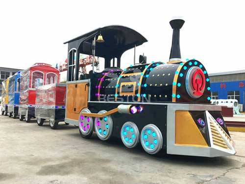 New Electric Sightseeing Trackless Train